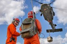 Optionally Piloted Black Hawk takes off