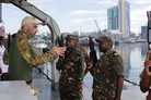 ITS Euro exercises with Tanzanian navy