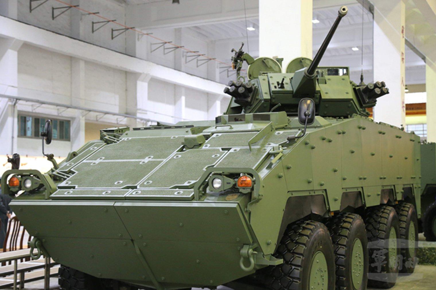 Taiwanese Ifv Gains 30mm Cannon Lwi Land Warfare