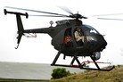 AH-6i helicopter flies in production configuration