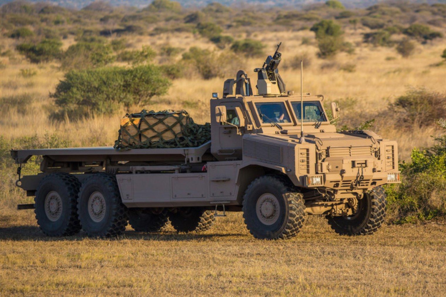 Denel S Africa Truck In Capability Demo Mlf Military