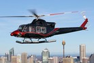 Bell 412EPI flies in Aomori Prefecture