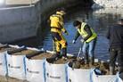 Hesco tests new flood barrier solution