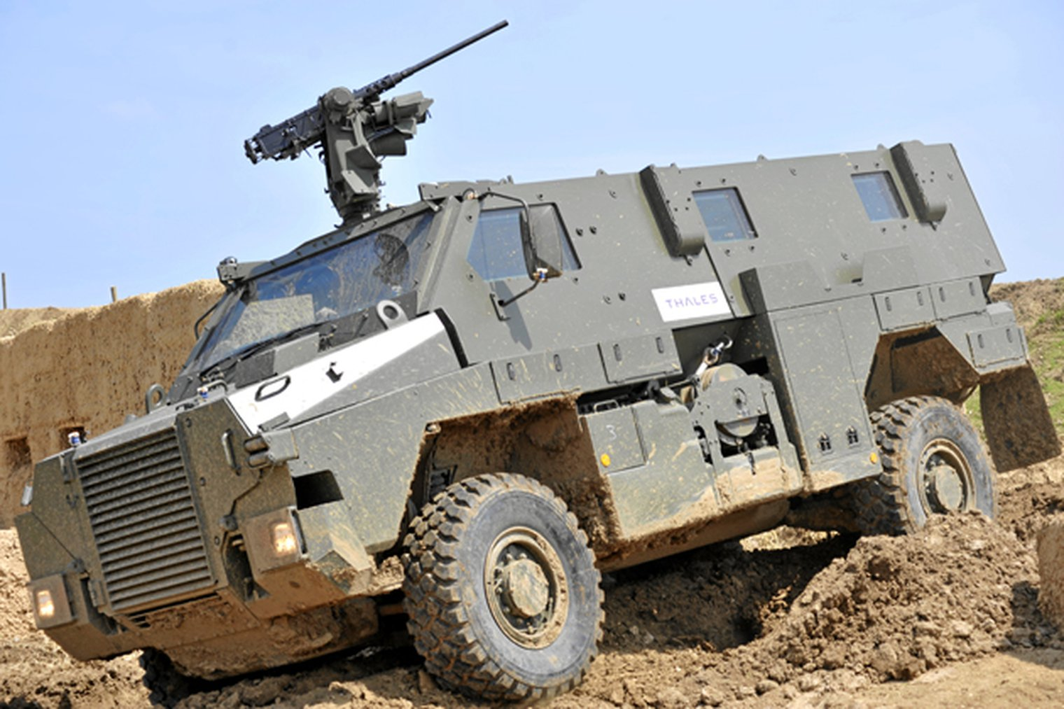 Thales Australia Announces Jamaica Bushmaster Order Lwi
