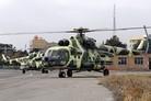 Iran brings in rotary firepower