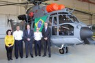 First EC725 built in-country delivered to Brazil