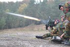 Belgian army battalions fire first Spikes