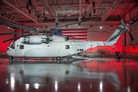 CH-53K King Stallion helicopter rolled out