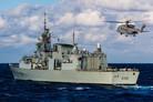 HCMS Montréal sets to sea as X-Ship