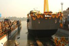 Indian Navy launches landing craft