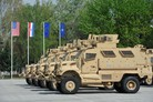 Croatia receives MRAP vehicles from US government