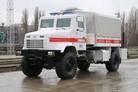 Mine clearance vehicle for Ukraine SSES
