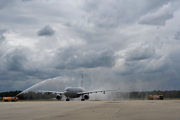 First A330 MRTT arrives at main operating base