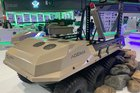 IDEX 2021: Milanion displays UGV with loitering munition and stabilised RWS