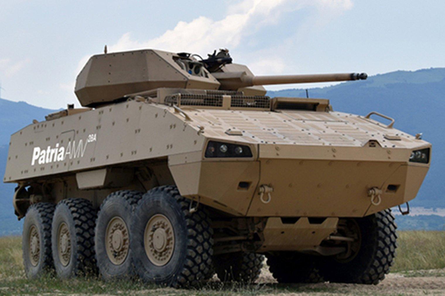 Patria AMV (Armored Modular Vehicle)   AIIRSOURCE