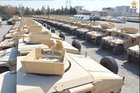 Afghanistan receives batch of 640 vehicles from US