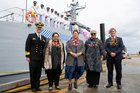 Guardian-class patrol boat handed over to Samoa