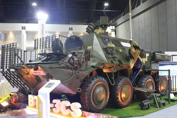 D&S 2019: Thales supports Thai armoured vehicle digitisation