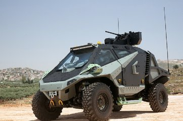 Eurosatory 2018: Israeli firms display armoured vehicle concepts