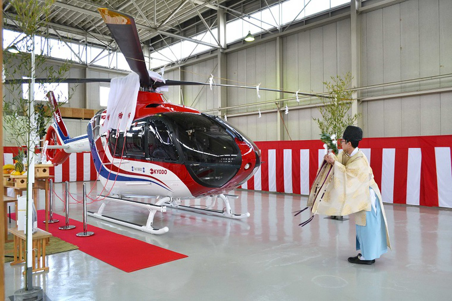 ROTORCRAFT ASIA 2019: H135 DEPLOYED IN JAPAN FOR ELECTRONIC NEWS