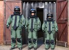 NP Aerospace achieves exclusive bomb suit standard