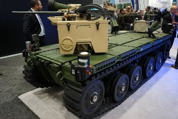 AUSA 2019: QinetiQ joins with Pratt & Miller to present new RCV offering