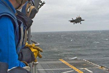F-35 performs precision landing (video)