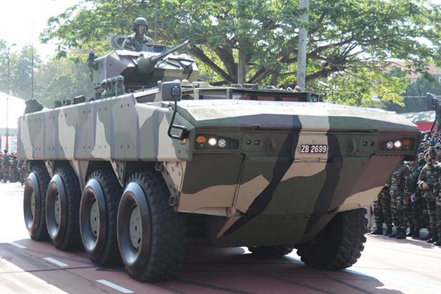 DSA 2018: Malaysian Army awaits new CBRN armoured vehicles - LWI