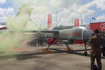   Paris Air Show: Falco Xplorer lights fire to unmanned MALE competition