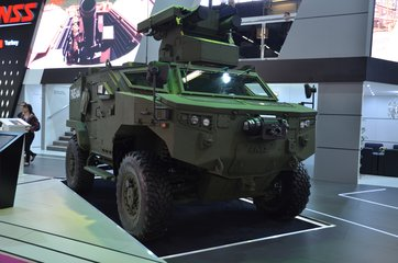 Eurosatory 2018: CEO details FNSS first 4x4 (video)