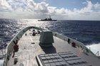 Combat system trials for HMAS Brisbane