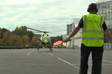 Helitech 2018: Whirlybirds arrive ahead of the show (video)