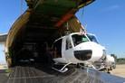 Huey IIs arrive in Lebanon