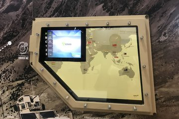 DSEI 2019: OSG unveils touchscreen armoured glass solution