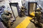British Army using Inflatable Walls Training System