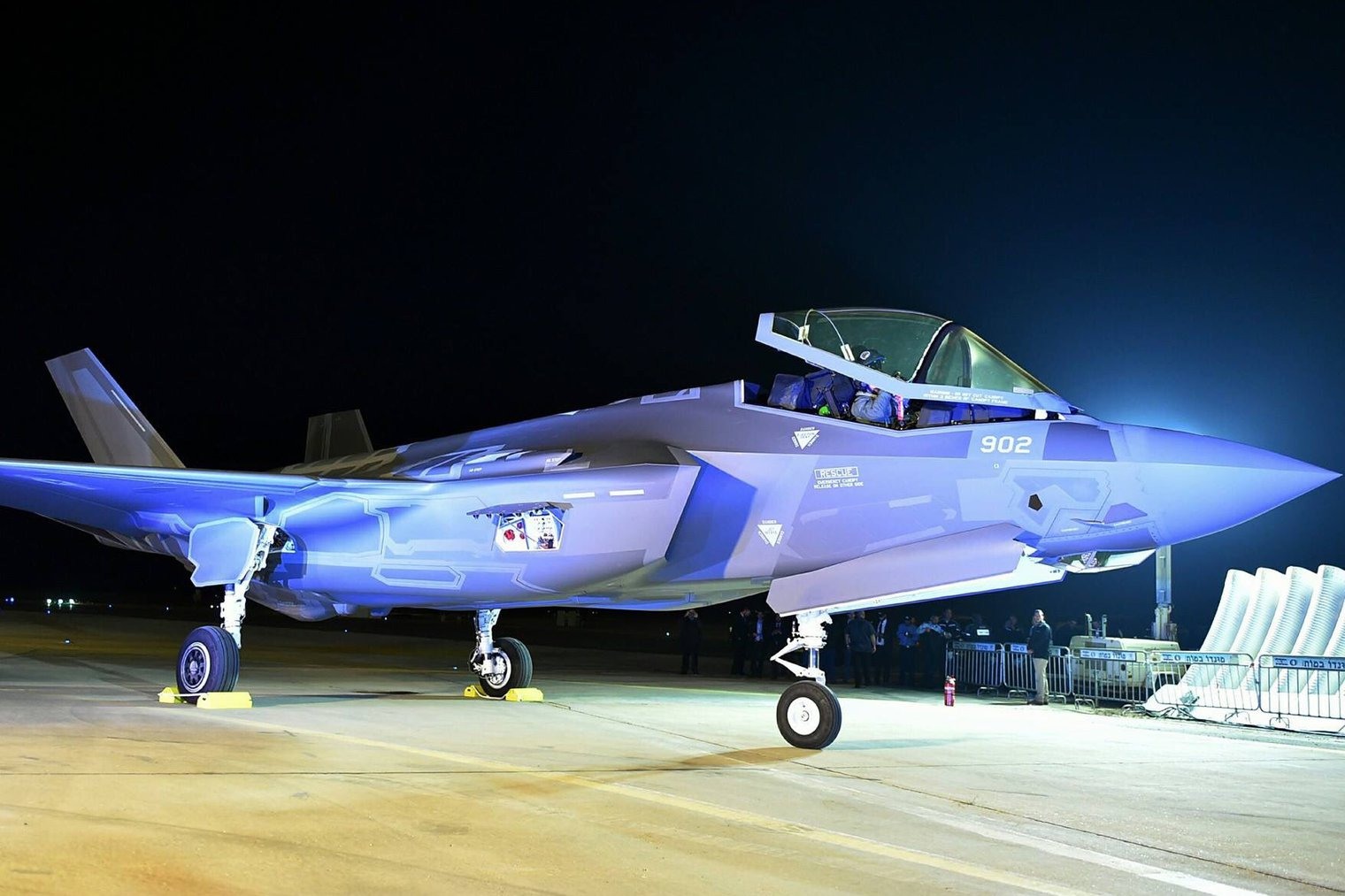 Israeli F-35s operating from 'Gulf soil' a genuine possibility