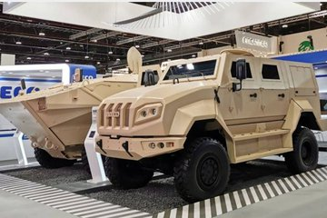 IDEX 2021: Iveco launches SuperAV variant and 4x4 tactical vehicle