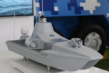 Chinese shipbuilder launches 'combat-ready' JARI USV