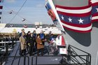 US Navy christens USS John F Kennedy