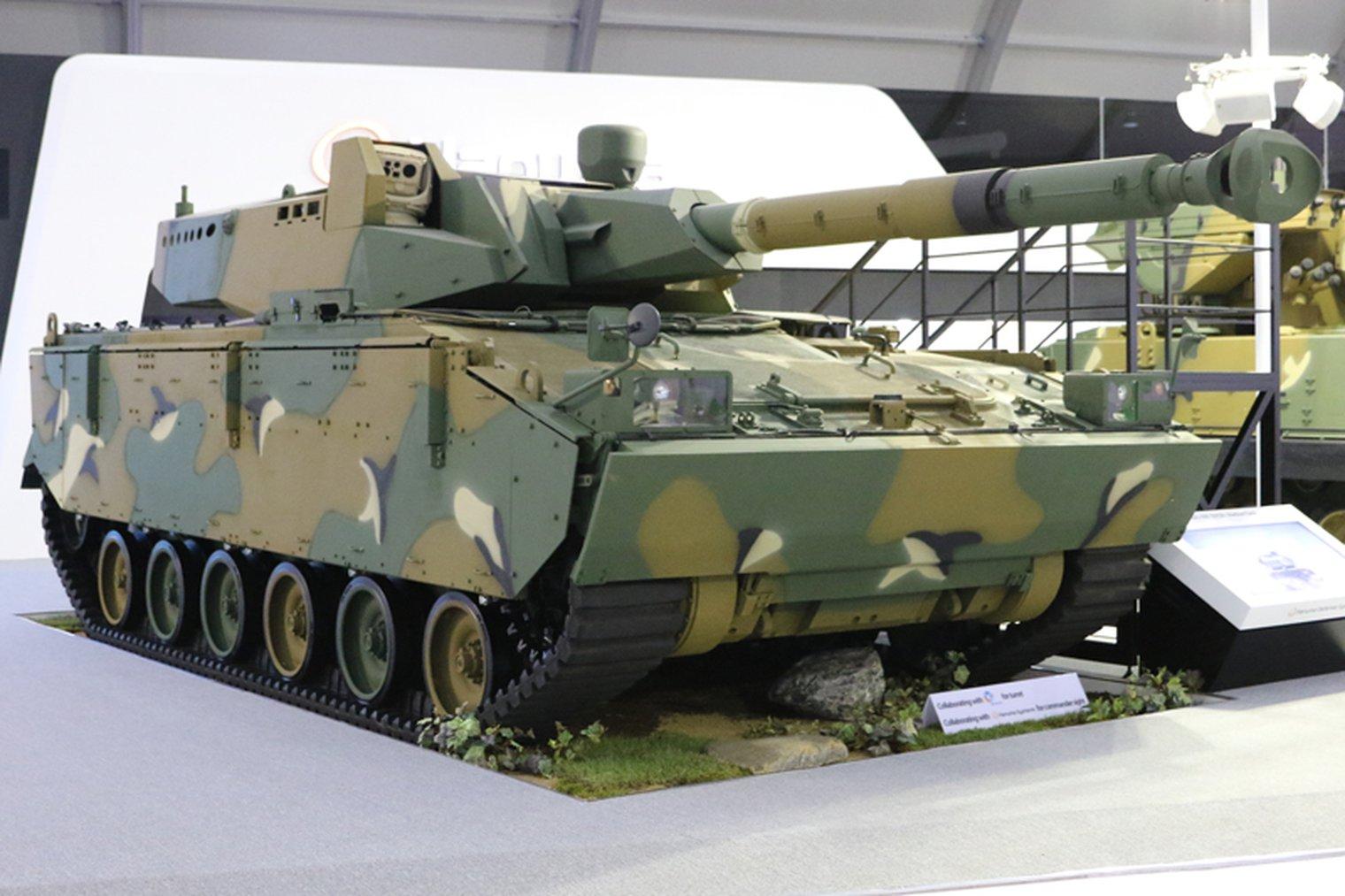 K21-105 Medium Tank KOREA | KASKUS
