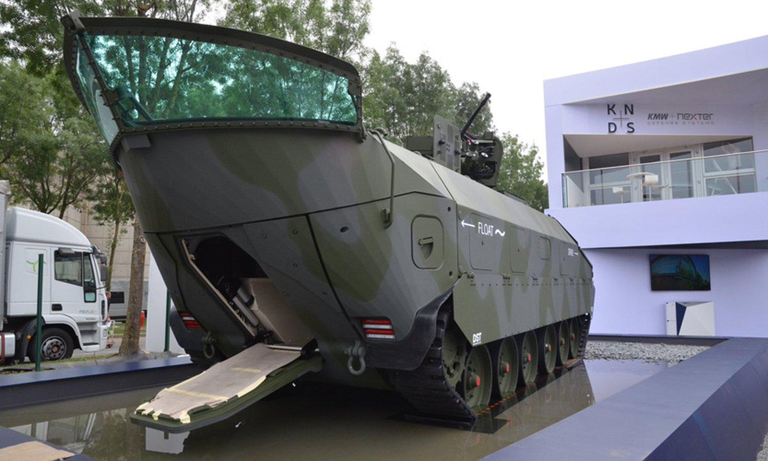 Eurosatory 2018 Kmw Floats New Tank Concept Video Lwi