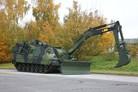 Sweden receives first Kodiak armoured engineering vehicle