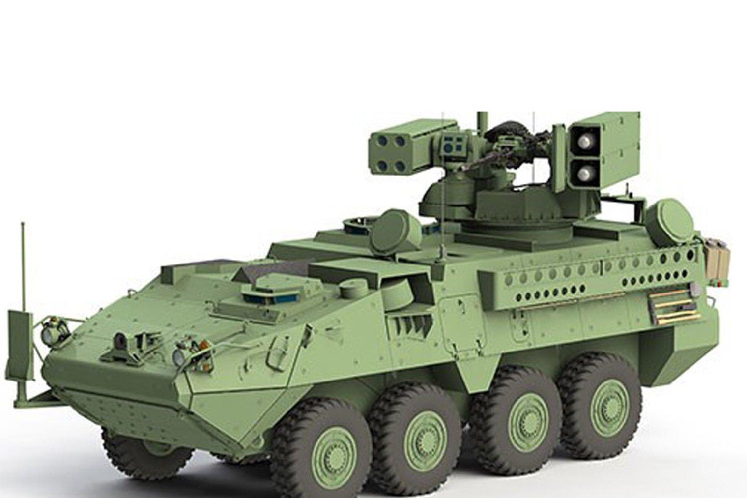 AUSA 2018: Air defence Stryker takes next step ile ilgili görsel sonucu