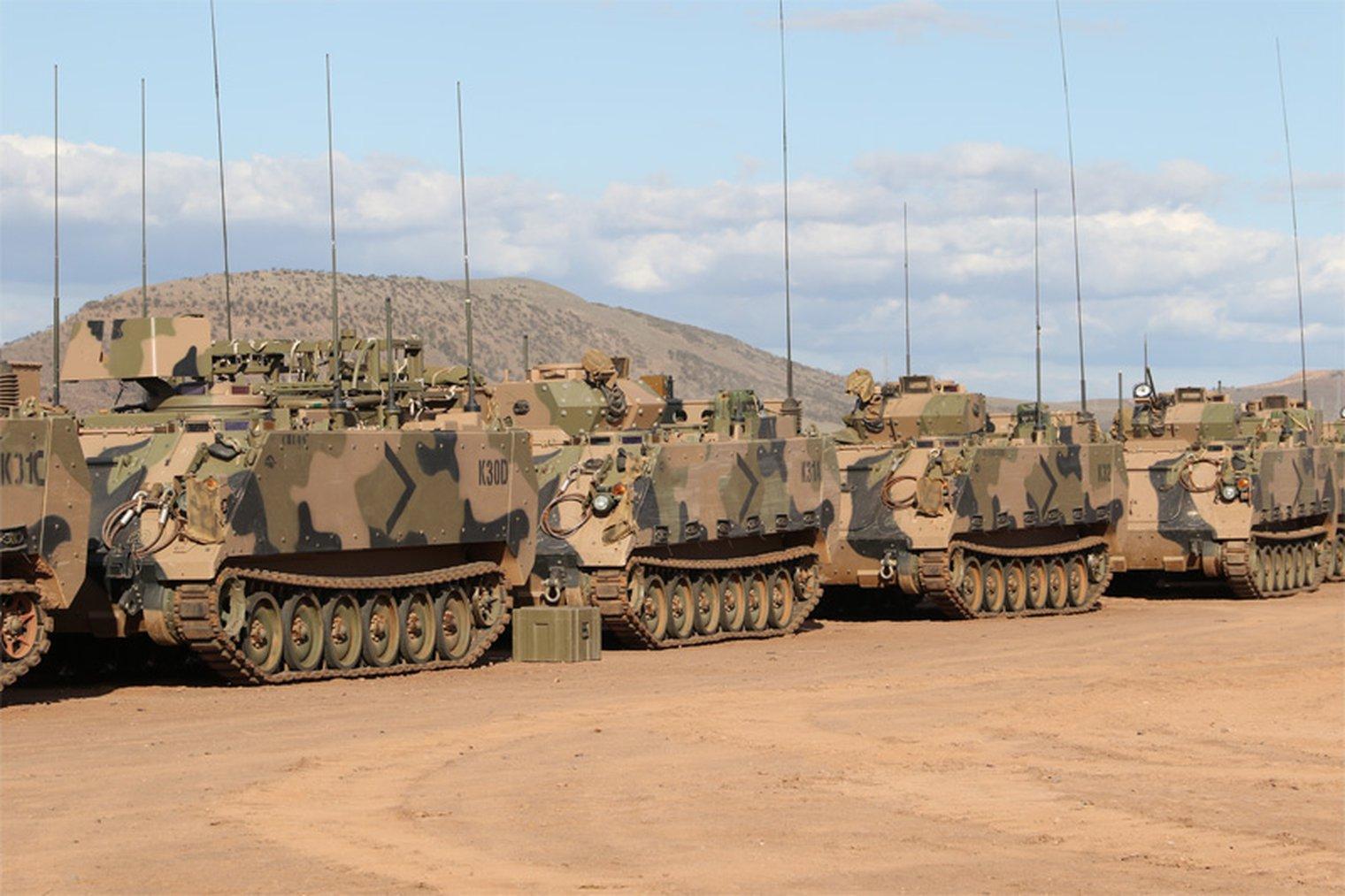 Resultado de imagen para BAE Systems Australia para desarrollar la versión autónoma de M113 APC