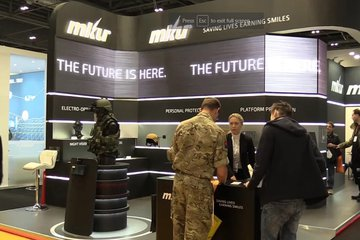 DSEI 2017: MKU highlights soldier modernisation system (video)
