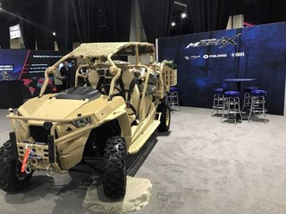 SOFIC 2018: MRZR-X supports UK MoD