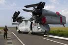 Marine Corps V-22s arrive in Japan