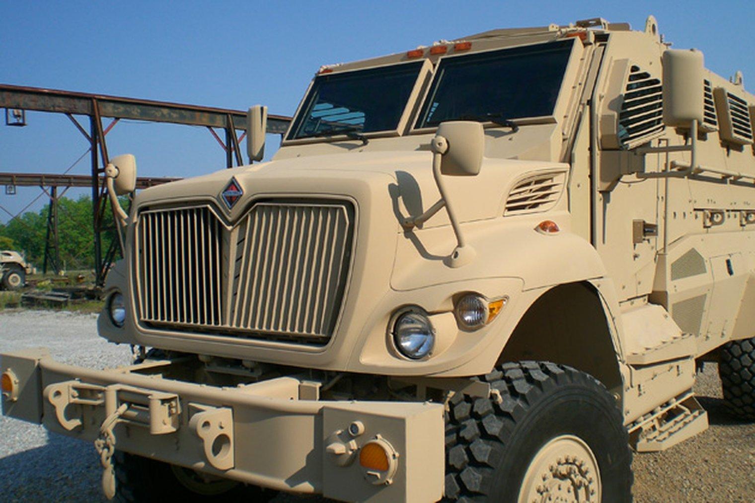 Navistar Defense wins MRAP RPG net contract - LWI - Land