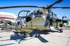 Mi-35Ms en route to Kazakhstan
