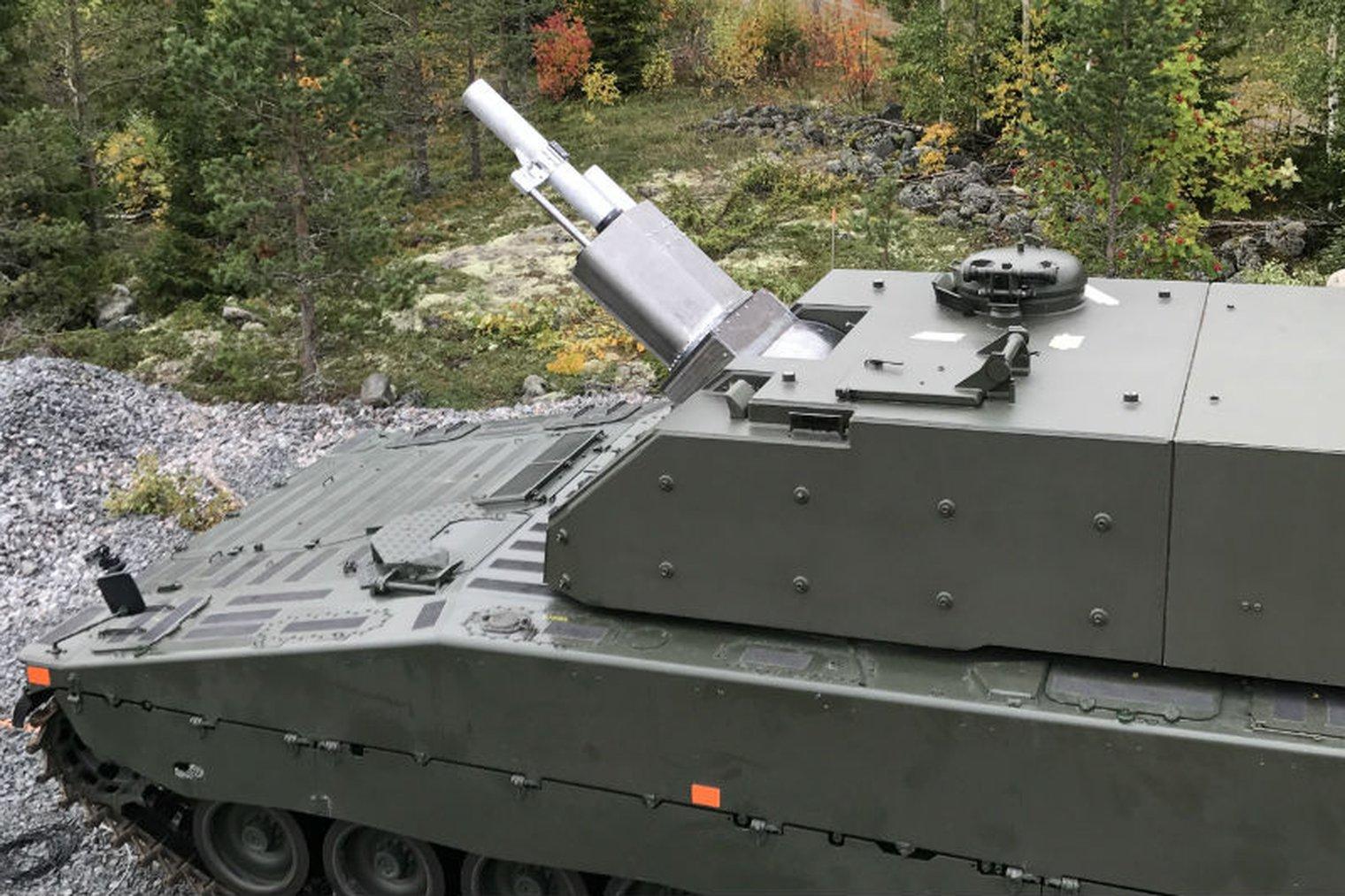 Swedish CV90 begins 120mm mortar firing trials - LWI - Land
